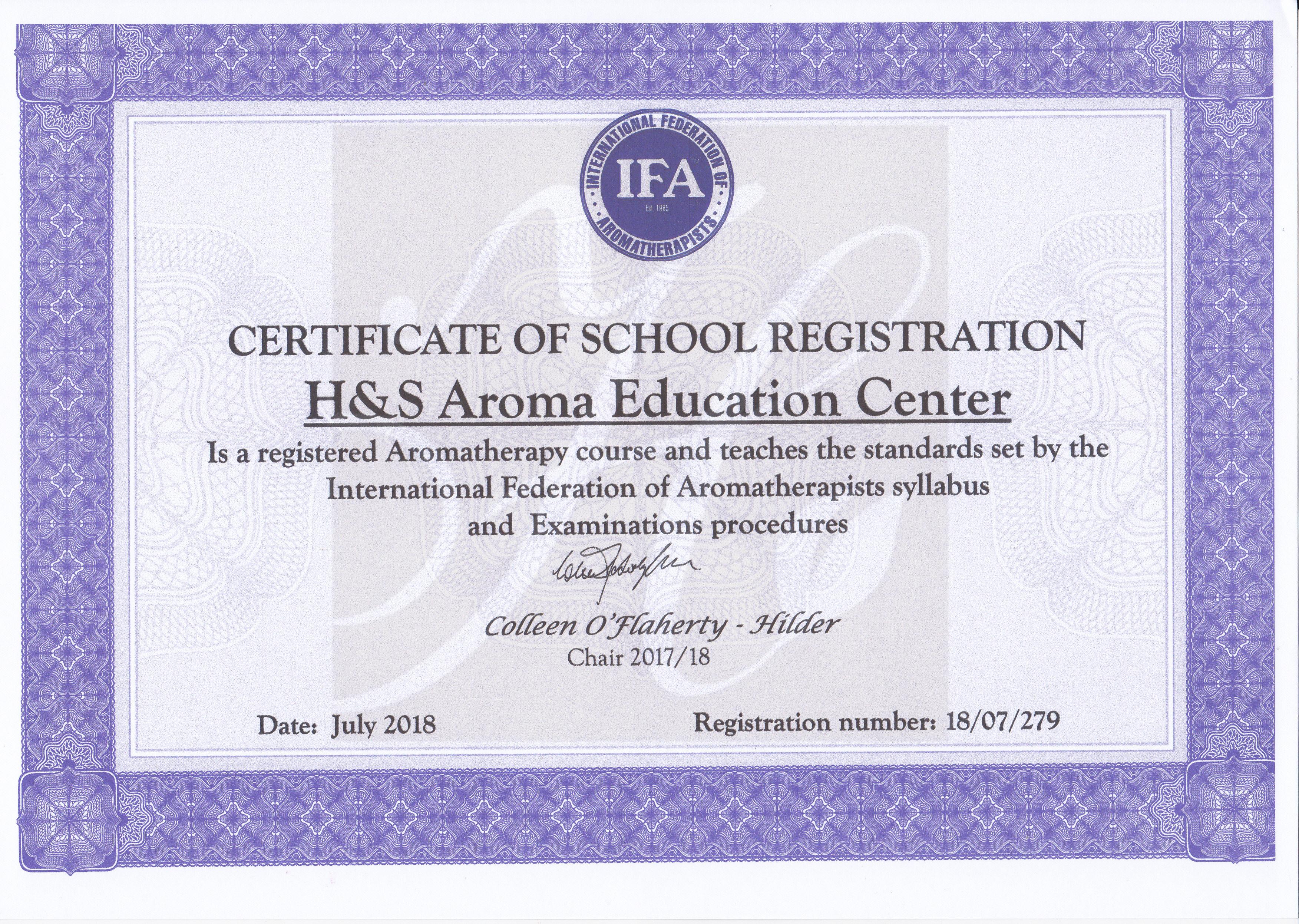 IFA认证培训学校